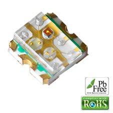 L-C19F1RGBCT – 6 pin 1.6×1.6×0.6mm Surface Mount Device LED (0606)